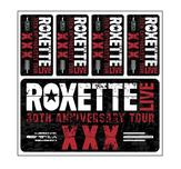 ROXETTE - STICKERS, XXX 2015